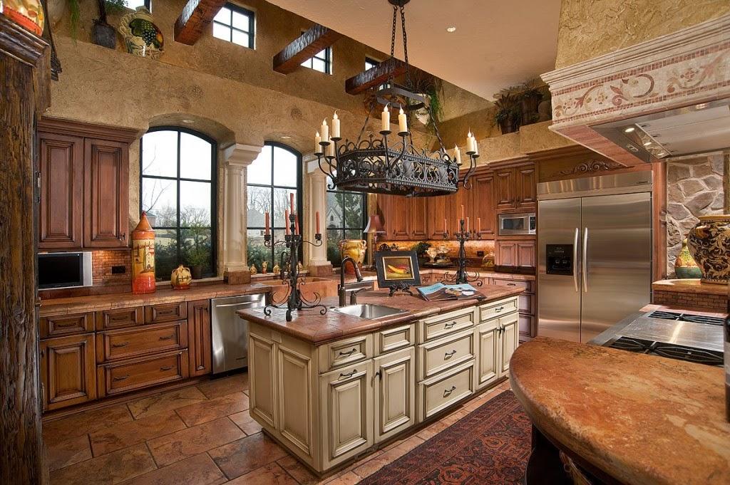 Ahşap Mutfak Dekorasyonu