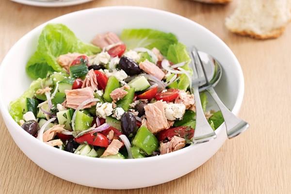 ton balıklı salata