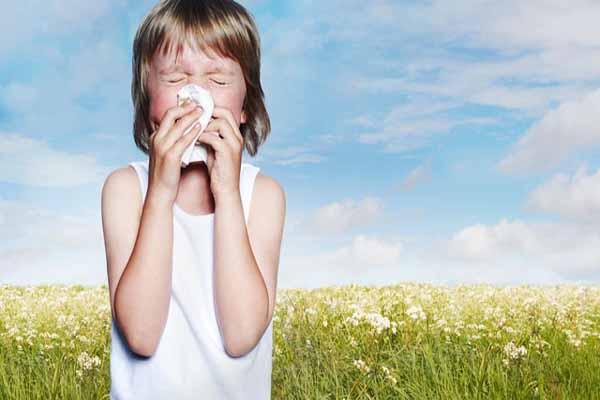 çocuklarda alerji